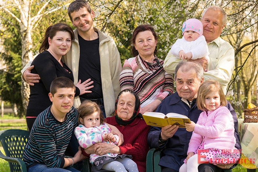 Русское семейное фото