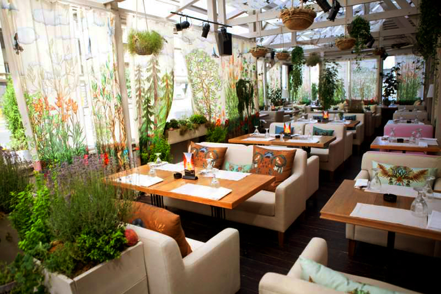 Летние кафе при ресторане дизайн